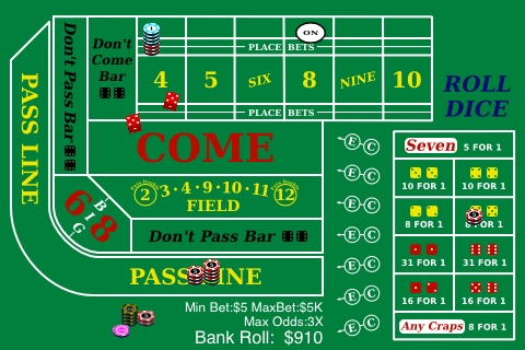 Screenshot Craps University